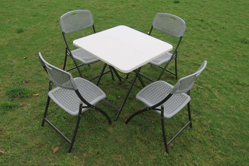 Cafeteria Table - Chairs Set (4+1)