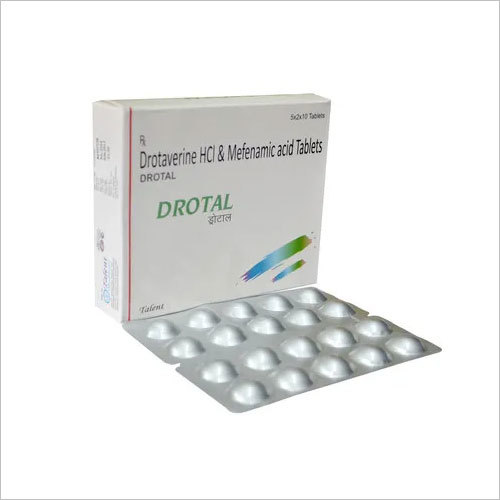 Drotaverine HCL 80 mg & Mefenamic acid IP 250 mg