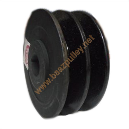 Alternator Pulley Double Belt Cast Iron