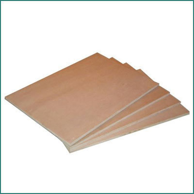 Commercial grade plywood for packaging