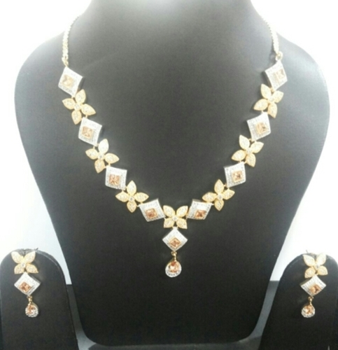 Partywear Ad Necklace Set