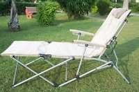Sun Bed Lounger Chair- With Carry Bag