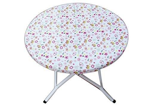 Folding Kids Table-Pink Butterfly