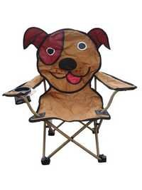 Kids Animal Character Chair with Carry Bag (Dog)