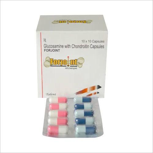 Glucosamine 500 mg + Manganese + Chondroitin 200 mg + Vitamin E 200 mg+ Vit. C 50mg