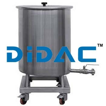 Wheeled Storage Tank