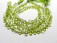 Peridot Faceted Pear