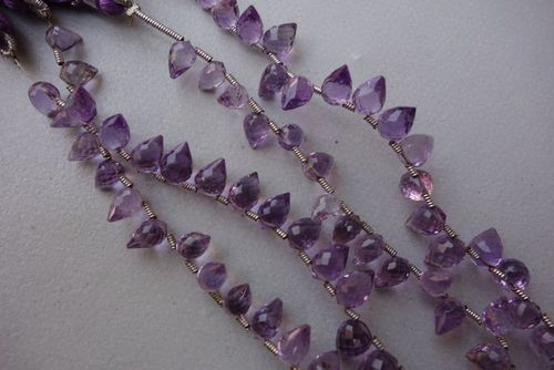 Amethyst Faceted Lohi