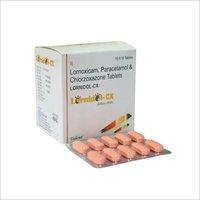 Lornoxicam 8 mg + Paracetamol 325mg + Chlorzoxazone 500mg