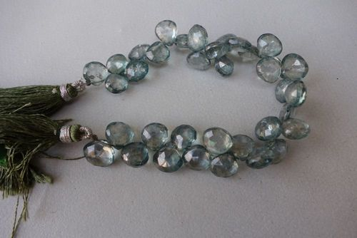 Apatite Faceted Brioletters
