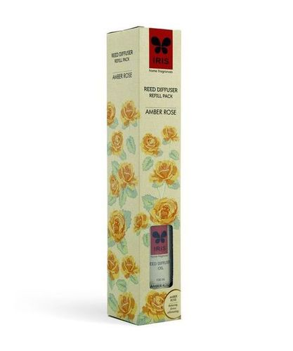 Reed Diffuser Refill Pack (Amber Rose)