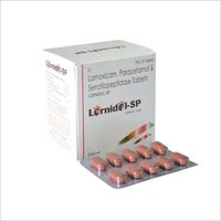 Lornoxicam 8 mg + Paracetamol 325 mg + Serratio. 15 mg