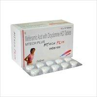 Mefenamic acid 250 mg + Dicyclomine 10 mg