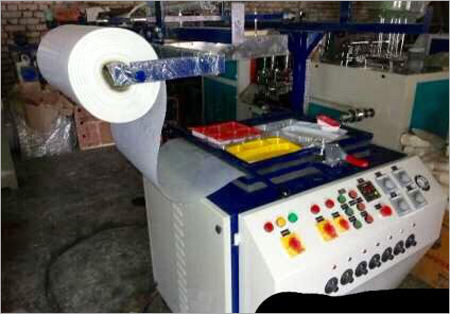 Semi Automatic Thermocol