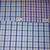 Poly Cotton Yarn Dyed Check Fabric