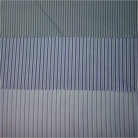 Poly Cotton Yarn Dyed Stripe Fabric