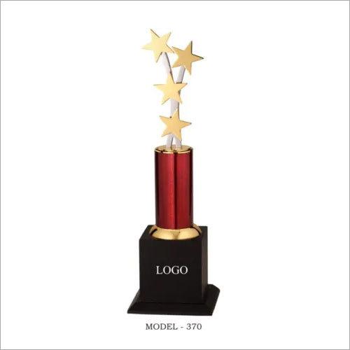 Brass award trophies