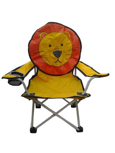 Animal Designer Chair with Carry Bag (Lion)