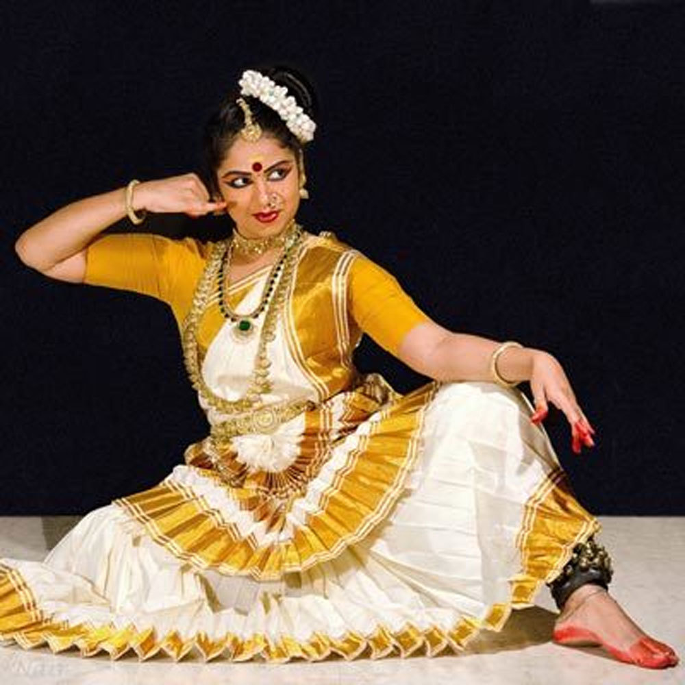 Mohiniattam Dance Saree
