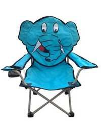 Animal Character Chair with Carry Bag (Elephant)