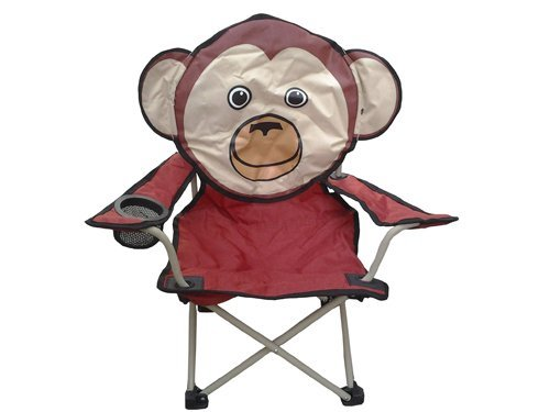 Animal Character Chair with Carry Bag (Monkey)