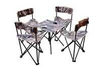 Trekking Chairs Table Set with Carry Bag