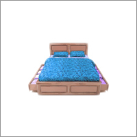 Hard Wood King Size Bed