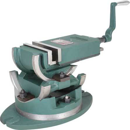 Universal Tilting and Swivel Angle Vice
