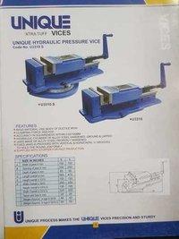 Hydraulic pressure vice