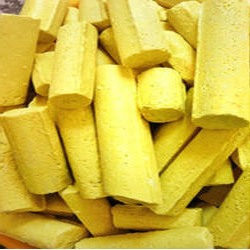 Bright Yellow Sulphur Rolls