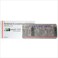 Montelukast 10 mg+ Levocetirizine 5 mg