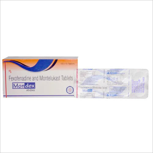 Montelukast 10 mg + Fexofenadine 120 mg