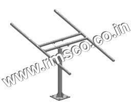 Single Pole Structure