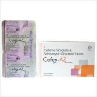 Cefixime 200 mg + Azithromycin 250 mg