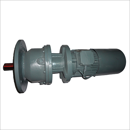 Flange Mounted Gear Motor With Brake