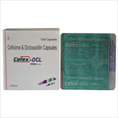 Cefixime and Dicloxacillin Capsules
