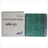 Cefixime 200 mg + Dicloxacillin 250 mg