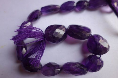 Amethyst Faceted Nuggets