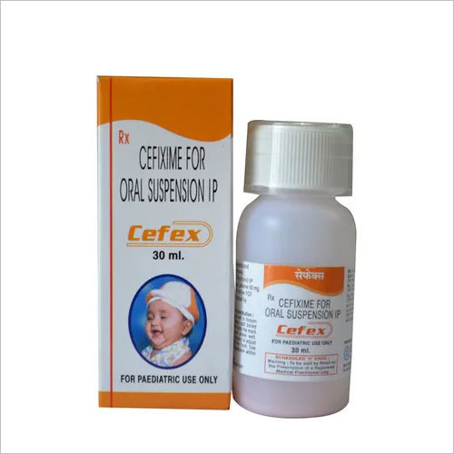 Cefixime 50 mg/5 ml