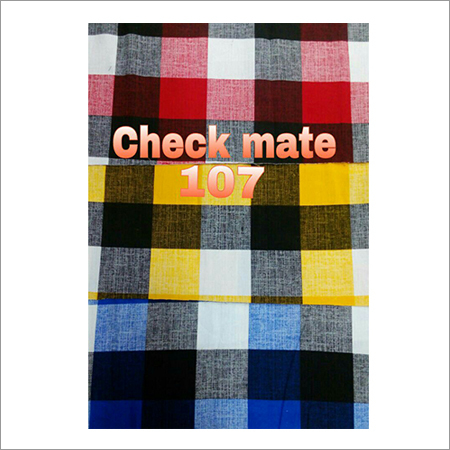 Check Mate Shirting Fabric