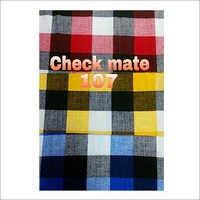 Check Mate Shirting Fabric