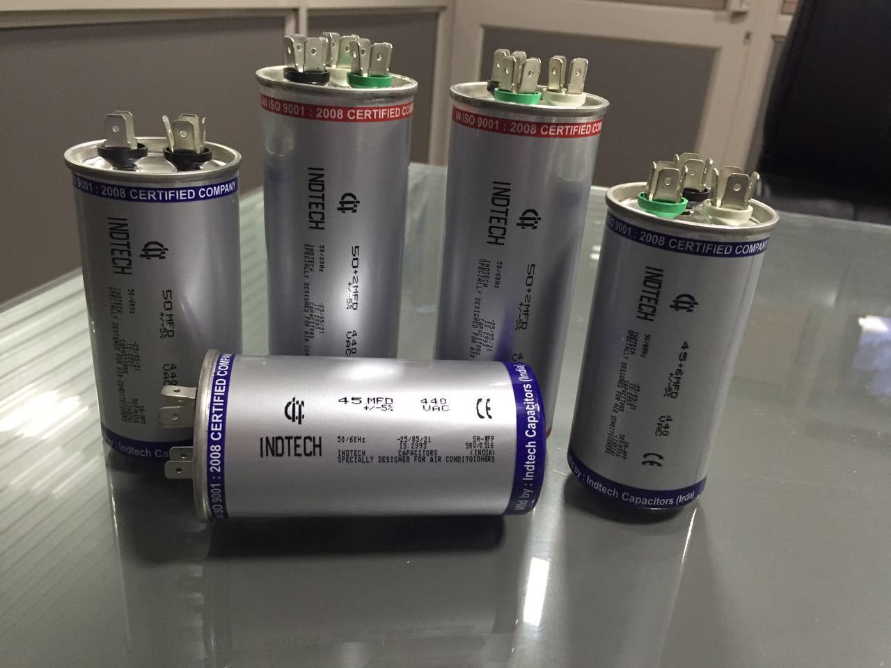 High Voltage AC Capacitors