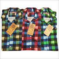 Checkered Cotton Shirt