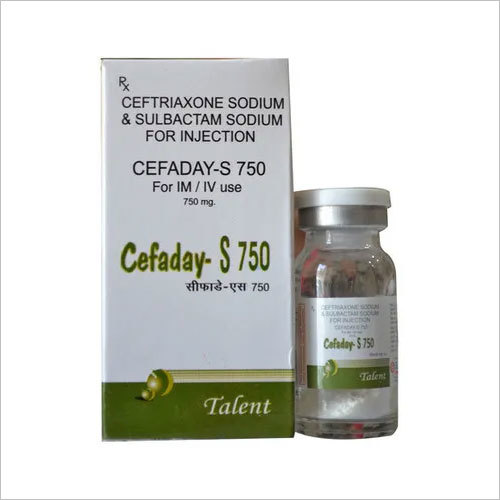 Ceftriaxone 500 mg+Sulbactam 250 mg