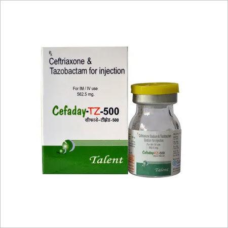 Ceftriaxone 500mg+Tazobactam 62.5mg