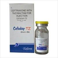 Ceftriaxone 1 gm+Tazobactam 125 mg