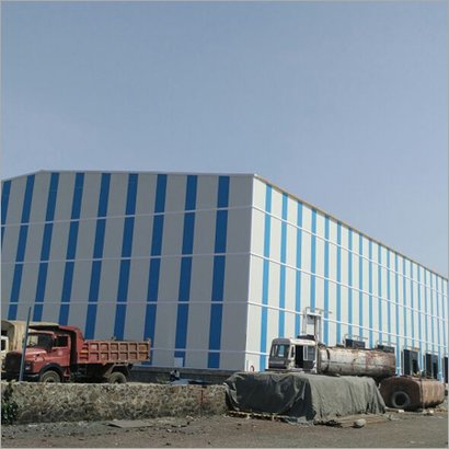 Offwhite Prefabricated Cold Storage