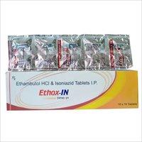 Ethambutol Hydrochloride 800 mg, Isoniazid I.P 300 mg