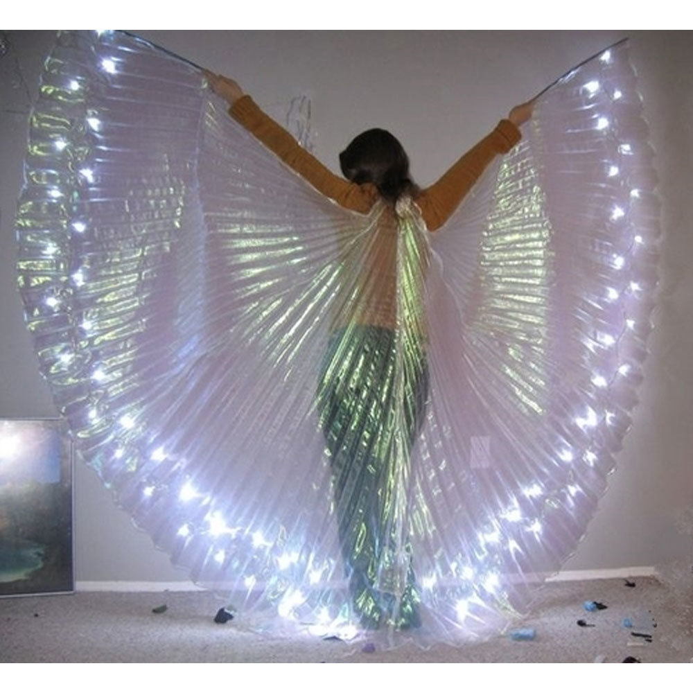 Silver Led Isis Wing