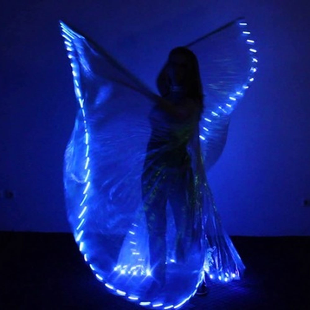 Blue Led Isis Wing